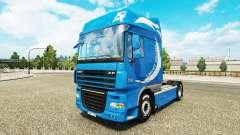L'Édition limitée de la peau pour DAF camion
