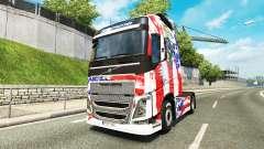 USA-skin für den Volvo truck