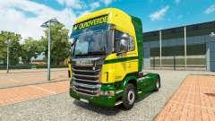 Die Ouro Verde Transportes skin für Scania-LKW