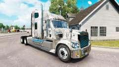 Haut-Grunge-Metal auf dem truck-Freightliner Cor