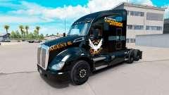 Haut Die Aufteilung der Kenworth truck
