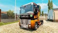 Obtenir FKD de la peau pour Renault camion