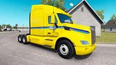 Penske de la peau pour le camion Peterbilt