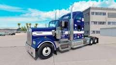 Haut-Onkel D-Logistik auf LKW-Kenworth W900
