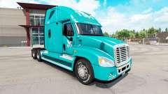 La peau TUM sur tracteur Freightliner Cascadia