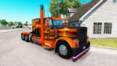 Haut-USA-Texas-truck-Peterbilt 389