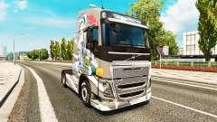 La peau de l'Euro de la Logistique chez Volvo tr