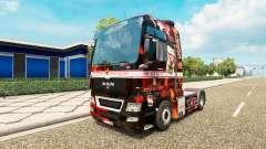 Support 81 de la peau pour l'HOMME de camion