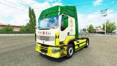 Rusty Marman de la peau pour Renault camion