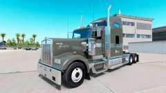 La peau sur Knight Frigorifique camion Kenworth