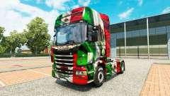 Le Mexique Copa 2014 de la peau pour Scania cami