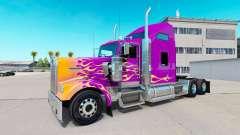 La peau de la Californie Flammes sur le camion K