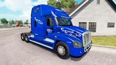 Haut Prime Inc. auf der Zugmaschine Freightliner