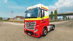 Simon Loos skin für den truck, Mercedes-Benz