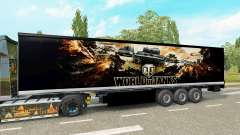 La peau de World of Tanks sur la remorque