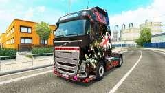 L'angleterre de la peau pour Volvo camion
