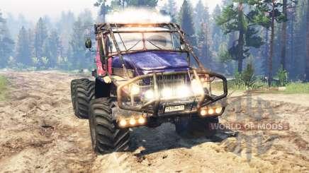Ural-375 Procès v2.0 pour Spin Tires