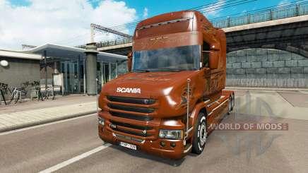 Scania T Longline [Black Amber] für Euro Truck Simulator 2