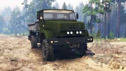 ZIL-4327 [Militär] für Spin Tires