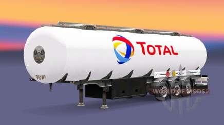 Kraftstoff-semi-trailer Insgesamt für Euro Truck Simulator 2
