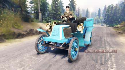 Renault Type G 1902 pour Spin Tires