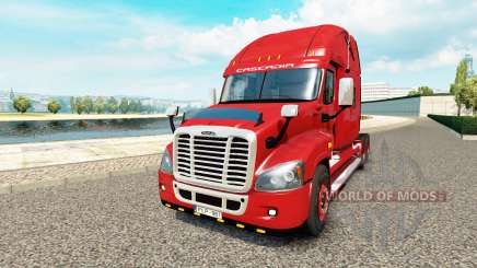 Freightliner Cascadia pour Euro Truck Simulator 2