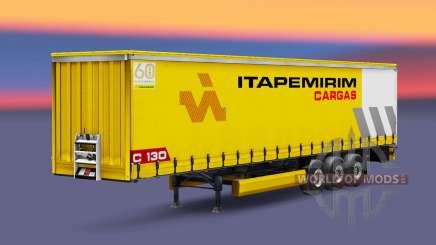 Itapemirim Cargas Haut für den trailer für Euro Truck Simulator 2