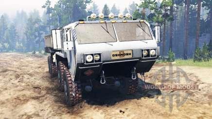 Oshkosh HEMTT M977 pour Spin Tires