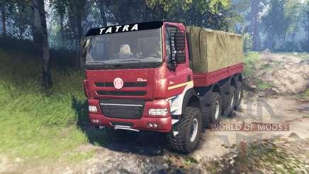 Tatra Phoenix T 158 8x8 v6.0 für Spin Tires