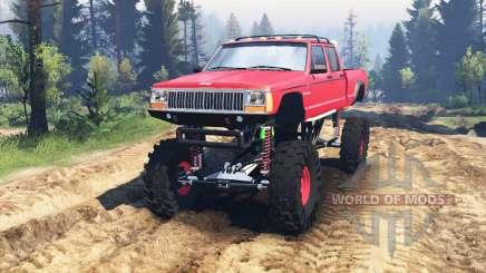 Jeep Grand Cherokee Comanche 4x4 v2.0 pour Spin Tires
