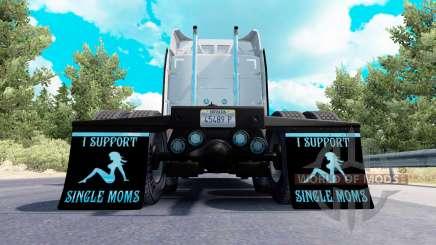 Garde-boue-je prendre en charge des Mamans v1.7 pour American Truck Simulator