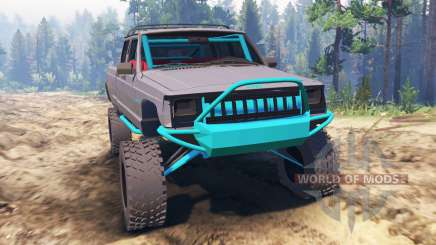 Jeep Grand Cherokee Comanche [pre-runner] pour Spin Tires