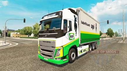 Volvo FH 2012 [tandem] pour Euro Truck Simulator 2