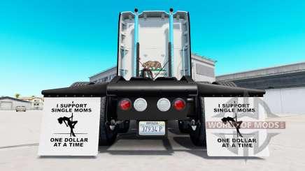 Garde-boue-je prendre en charge des Mamans v1.5 pour American Truck Simulator