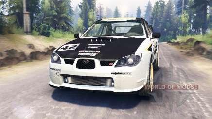 Subaru Impreza STi 2007 pour Spin Tires