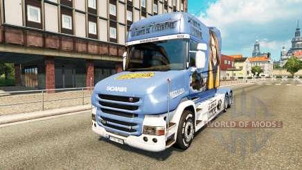 Haut Lisa Konvoi für LKW Scania T für Euro Truck Simulator 2