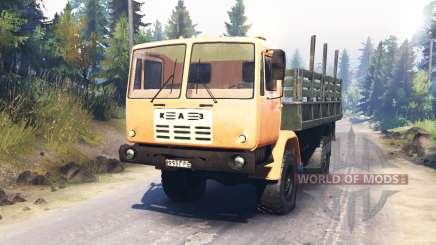 KAZ-4540 für Spin Tires