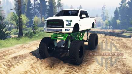 Ford F-150 [zombie edition] v2.0 pour Spin Tires