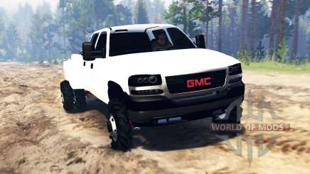 GMC Sierra 3500 Crew Cab 2001 pour Spin Tires