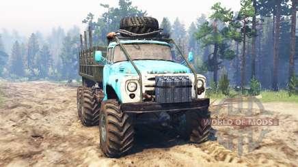 ZIL-165 [Sumpf-monster] für Spin Tires