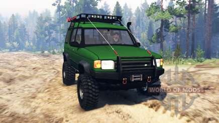 Land Rover Discovery v2.0 pour Spin Tires
