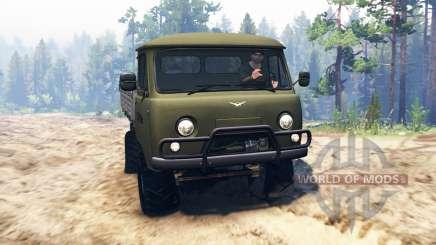 UAZ-452Д pour Spin Tires