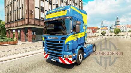 Wittwer skin für Scania-LKW für Euro Truck Simulator 2