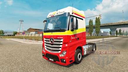 Simon Loos skin für den truck, Mercedes-Benz für Euro Truck Simulator 2