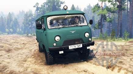 UAZ-39621 pour Spin Tires