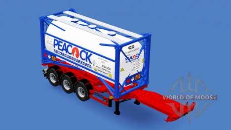 Conteneur semi-remorque D-tec pour American Truck Simulator