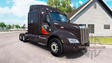 Haut Gallone Öl-truck Peterbilt für American Truck Simulator