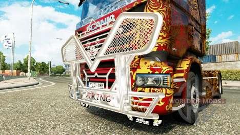 Excellente qualité Viking tracteur Scania pour Euro Truck Simulator 2