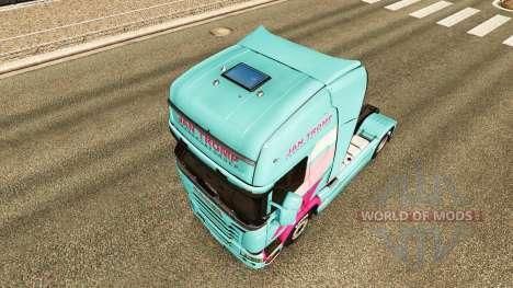 Jan Tromp skin für Scania-LKW für Euro Truck Simulator 2