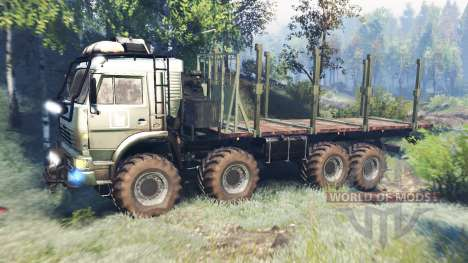 KamAZ-6560 [Mouromets] v6.0 pour Spin Tires